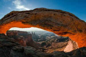 Bigstock_ 23105315 - Mesa Arch Sunrise