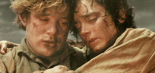 Sam and Frodo, Lord of the Rings